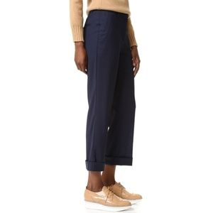 Theory Heze Cropped Pants 100% Virgin Wool